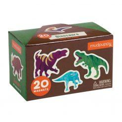 Zestaw magnesów Dinozaury, Mudpuppy | ZabawkiRozwojowe.pl