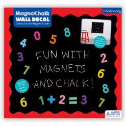 Naklejka magnetyczna Tablica 123, Mudpuppy | ZabawkiRozwojowe.pl