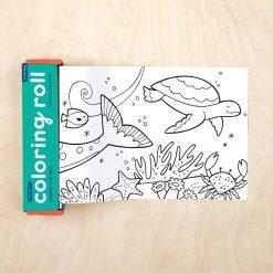 Kolorowanka w rolce Pod wodą Mudpuppy | ZabawkiRozwojowe.pl