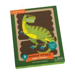 Puzzle patyczki Potężne dinozaury