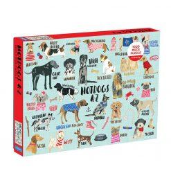 Puzzle rodzinne Rasy psów