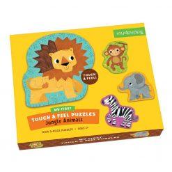 Puzzle sensoryczne Zwierzęta Dżungli