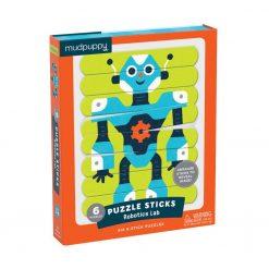 Puzzle patyczki Roboty