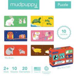 puzzle Zwierzęta i ich dzieci