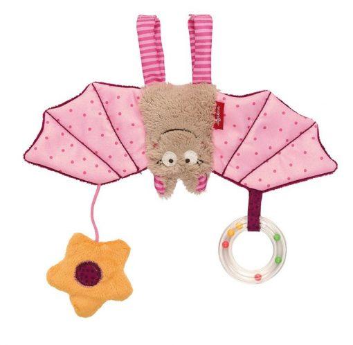 Miękka zawieszka Różowy nietoperz