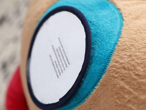 Aktywizująca poduszka-wałek Piesek