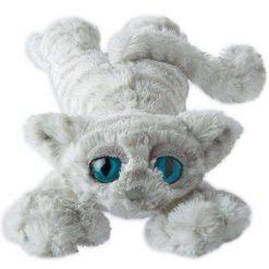 Lanky Cats - biały kotek przytulanka | ZabawkiRozwojowe.pl
