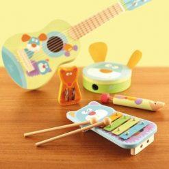 Gitara pastelowe zwierzaki