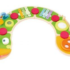 Multiaktywny wąż z instrumentami - zabawka kreatywna dla dziecka | ZabawkiRozwojowe.pl