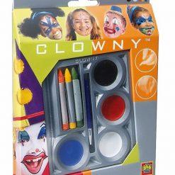 Zestaw farby wodne i kredki do malowania twarzy | ZabawkiRozwojowe.pl