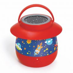 Lampka nocna Kosmos z projektorem