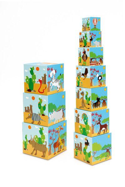 Piramida edukacyjna Zwierzęta świata