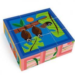 Puzzle klockowe Dżungla