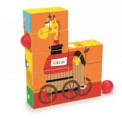 Puzzle rollercoaster Cyrk
