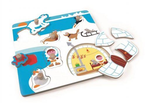 Puzzle z uchwytem Inuici
