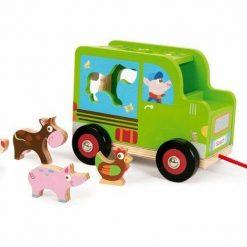Samochód-sorter do ciągnięcia Farma