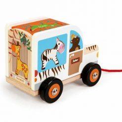 Samochód-sorter do ciągnięcia Safari
