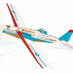 Niebieski samolot akrobacyjny