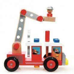 Wóz strażacki do składania