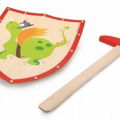 Tarcza i miecz Zielony smok
