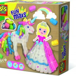 Funmais - Księżniczka i jednorożec, SES Creative - zabawka plastyczna | ZabawkiRozwojowe.pl