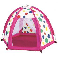Namiot w kropeczki