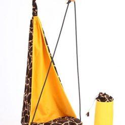 Bujany fotel Żyrafa