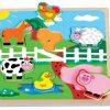 Puzzle muzyczne Farma