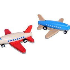 Czerwony samolot
