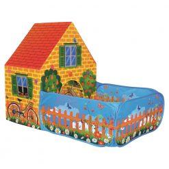 Namiot domek z płotkiem
