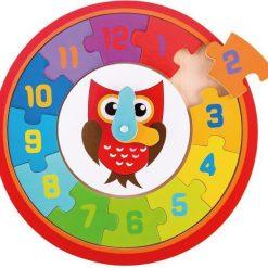 Edukacyjny zegar z sową