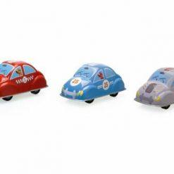 Zestaw trzech samochodzików