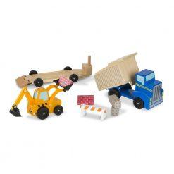 Zestaw pojazdów Plac budowy