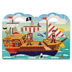 Naklejki wypukłe Piraci