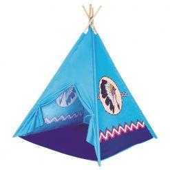 Niebieski namiot indiański