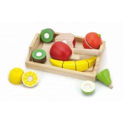 Taca z owocami do krojenia