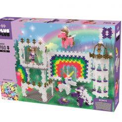Zestaw Mini Pastel Tęczowy zamek