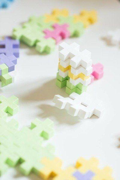 Klocki Midi Pastel – Mały Domek