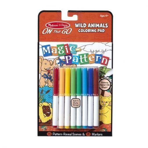 Magiczna kolorowanka Dzikie zwierzęta