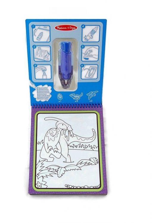 Malowanka wodna Dinozaury