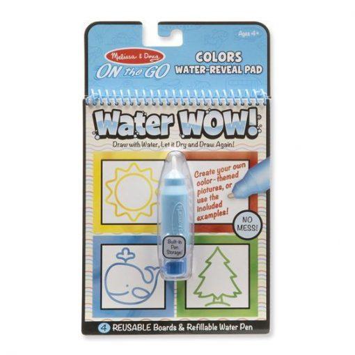 Malowanka wodna Kształty