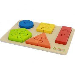 Puzzle Nauka kształtów