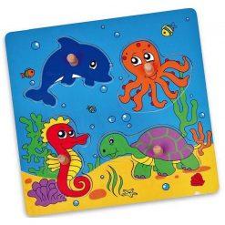 Puzzle-niespodzianka z uchwytem Morze