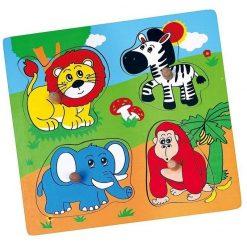 Puzzle-niespodzianka z uchwytem Zwierzęta