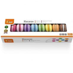 Zestaw kolorowych makaroników