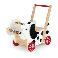 Wózek dla lalek-pchacz Piesek