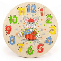 Zegar edukacyjny Sorter liczb