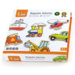 Zestaw magnesów Pojazdy