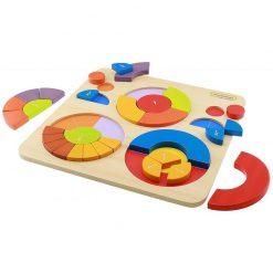 Puzzle Kolorowa układanka