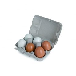Drewniane Jajka w Foremce
